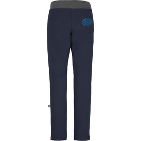 E9 Rondo Art Story Pantalon Homme, blue navy